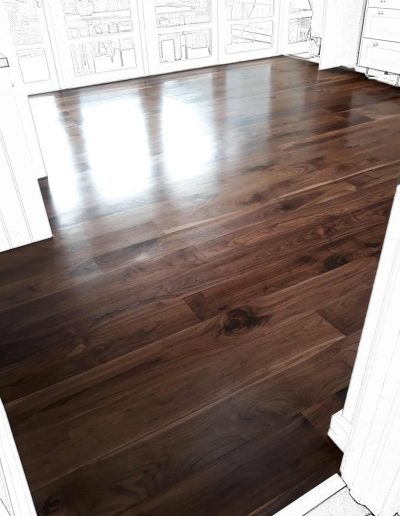 Floor Sander After - Blackrock Dublin