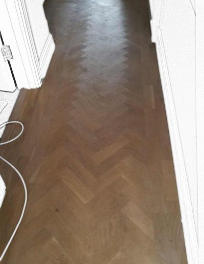 Floor Sander Before - Clonskeagh Dublin