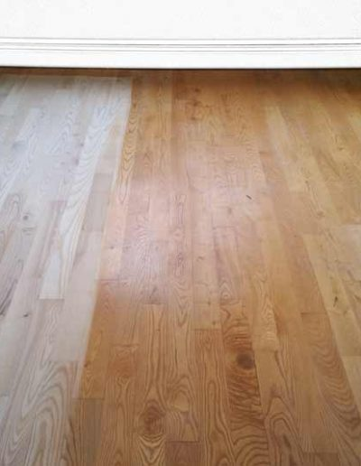 Floor Sander Before - Kilmacud Dublin