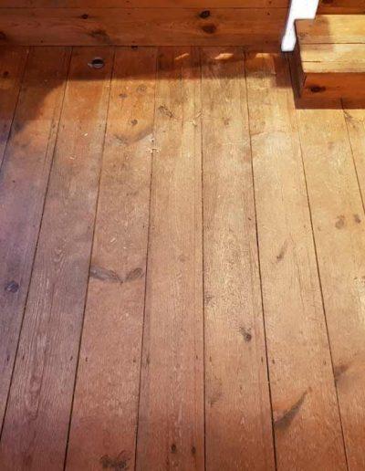 Floor Sander Before - Dalkey Dublin
