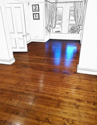 Floor Sander After - Greystones Wicklow