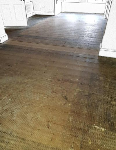 Floor Sander Before - Greystones Wicklow