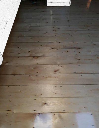 Floor Sander After - Clontarf Dublin