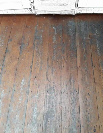 Floor Sander Before - Clontarf Dublin