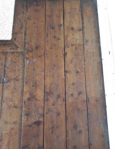 Floor Sander Before - Clontarf Dublin