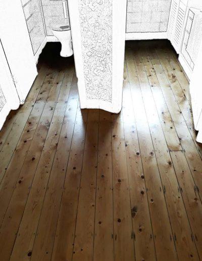 Floor Sander After - Stillorgan Dublin