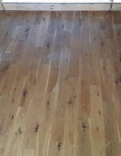 Floor Sanding Before - Shankill Dublin