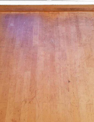 Floor Sanding Before - Rathfarnham Dublin
