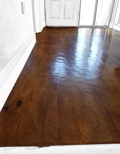 Floor Sanding Before - Monkstown Dublin