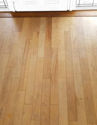 Floor Sanding Before - Dundrum Dublin
