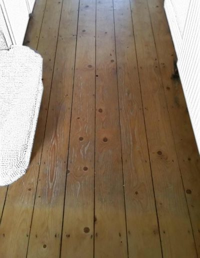 Floor Sanding Before - Stillorgan Dublin