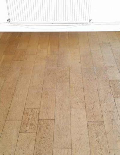 Floor Sanding Before - Delgany Wicklow