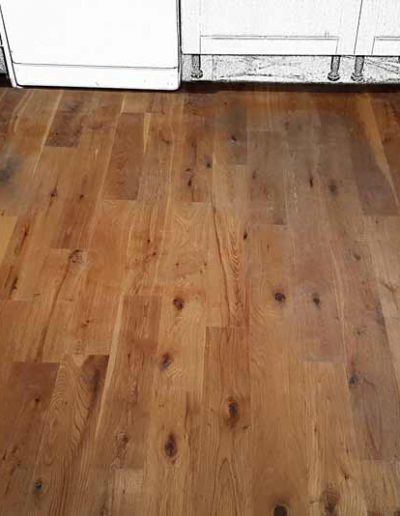 Floor Sanding Before - Shankill Dublin