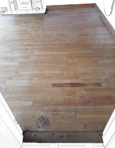 Floor Sanding Before - Kildare