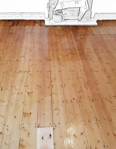 Floor Sanding After - Rathmichael Dublin